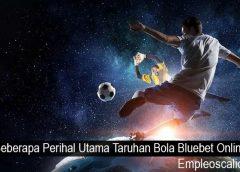 Beberapa Perihal Utama Taruhan Bola Bluebet Online