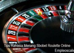Tips Rahasia Menang Sbobet Roulette Online