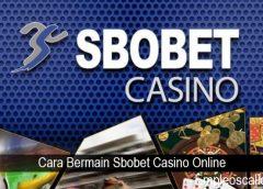 Cara Bermain Sbobet Casino Online